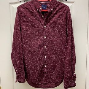 American Eagle seriously soft shirt maroon color